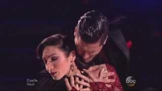 Val Chmerkovskiy & Meryl Davis dancing Argentine Tango on DWTS 4 7 14