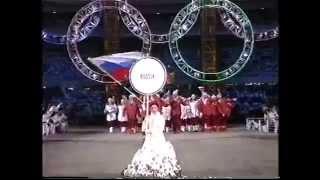 Torino Winter Olympics 2006 Parade Of Nations (Full BBC