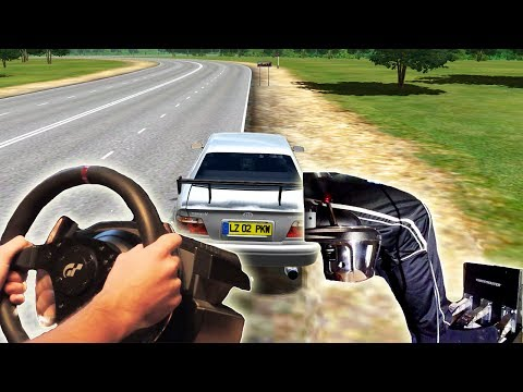 City Car Driving - illegal street Drifting (t500rs th8rs Steering Wheel Simulator Gameplay)HD 1080p
