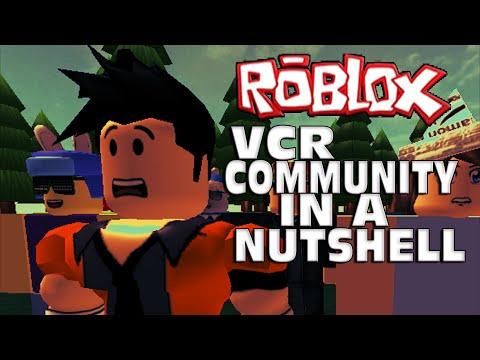 Roblox VCR Community In A Nutshell -- Roblox Animation/Machinima
