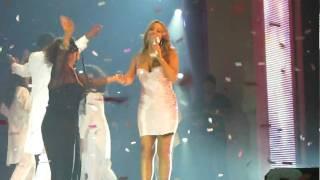 MARIAH CAREY Auld Lang Syne Live ! 12/31/09 01/01