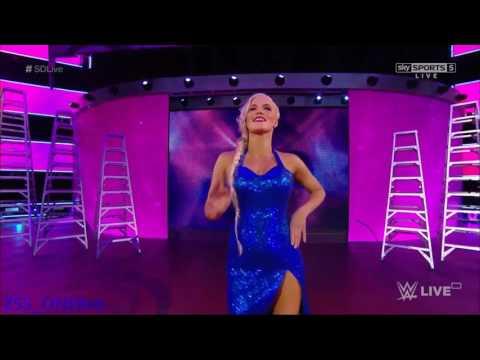 Ravishing Lana Entrance WWE Smackdown 6/13/2017