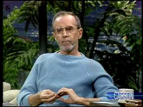 George Carlin's Funny Interview about His Wacky Health Problems: Johnny Carson 11/26/86