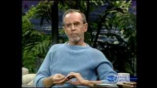 George Carlin Has Hilarious Health Problems: Johnny Carson, 1986