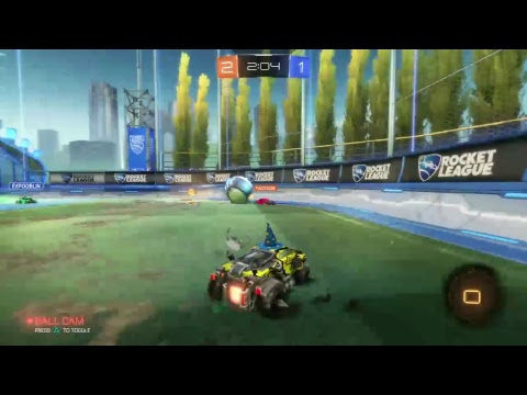 Young hispanic boy causes internets THICCEST poo-Rocket League Gameplay
