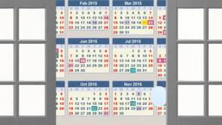2015 Chinese Calendar