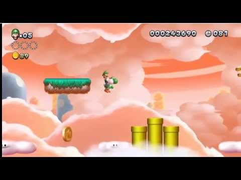 New Super Luigi U - Nintendo Direct Wii U Gameplay Footage (Part 2)