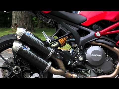 Ducati Monster 1100 EVO Exhaust