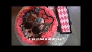 Cómo Decorar Una Tarta Monster High (www.racoinfantil.com