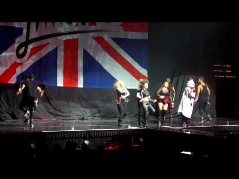 Salute- Little Mix with Demi Lovato snowman prank St. Paul 3/18/14