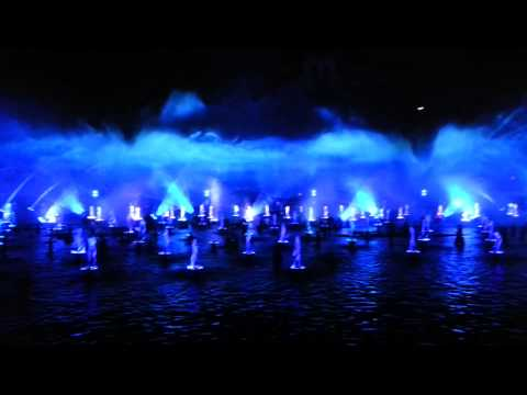 Disneyland world of color show, Anaheim California