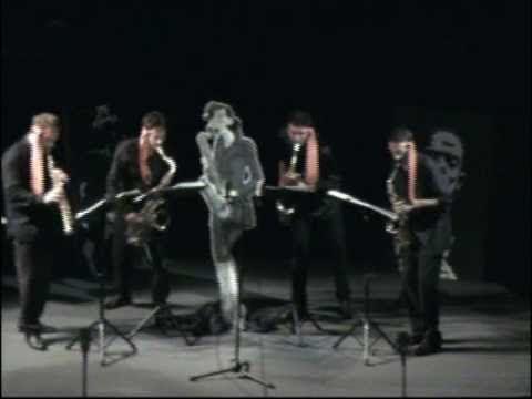 SAXOFOLLIA Fitness Quartet ORIGINAL RAG (Scott Joplin)
