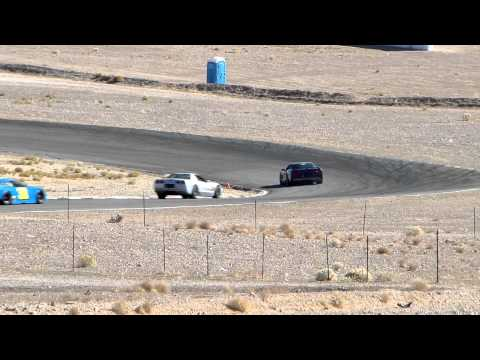 Fire breathing supercharged Vette on Track