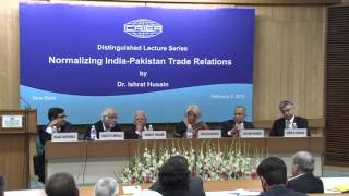 Lecture on Normalizing India - Pakistan Trade Relations-3