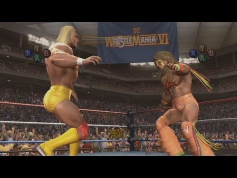 WWE 2K14 30 Years of WrestleMania Mode - Single Player Campaign - Hulk Hogan - Andre The Giant