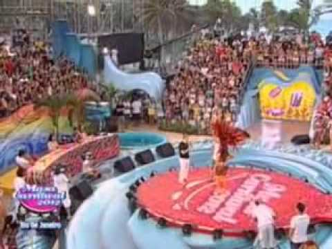 Luciana Caramelo da Mocidade Independente no Musa do Carnaval RJ 2012