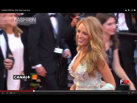 """CANNES FESTIVAL 2014"" Blake Lively Style on the Red Carpet"