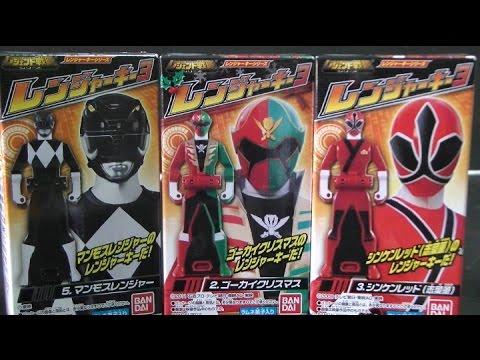 đồ chơi   siêu nhân hải tặc 파워레인저 캡틴포스 레전드 레인저키 장난감 Super Megaforce Toys