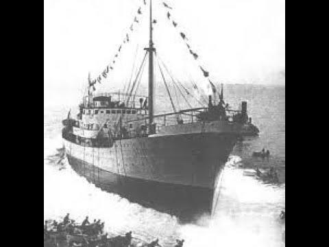 Il varo del Genepesca nel 1940 - Genepesca ship launch