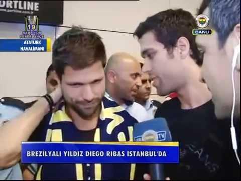 Diego Ribas İstanbulda
