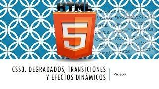 Curso de HTML 5. Parte 9