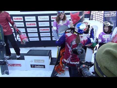 Eva Samková - Snowboard Cross World Champion 2014