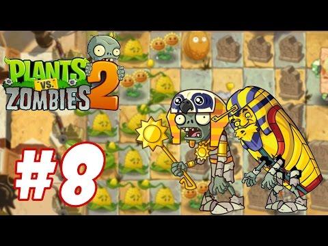 Hoa quả nổi giận 2 - Plants Vs Zombies 2 : thử nghiệm bí ngô Kernel-pult #8