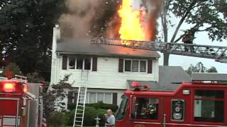 Maywood,nj Fire Department House Fire