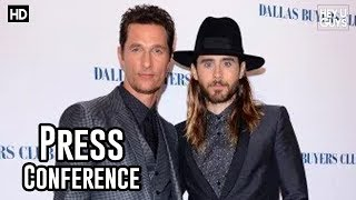 Dallas Buyers Club London Press Conference In Full Jared