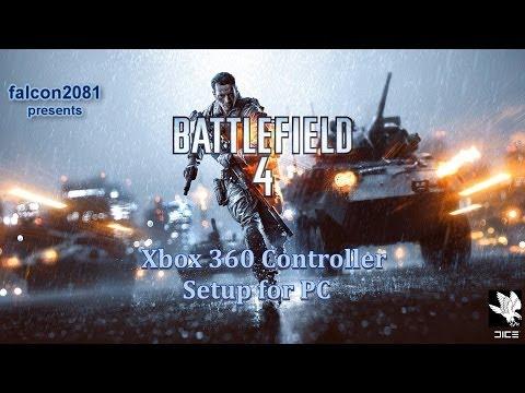 Battlefield 4 PC Xbox 360 Controller Setup