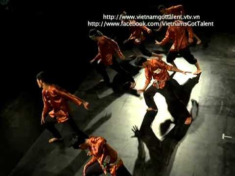 Vietnam's Got Talent 2012 - Vòng Loại Sân Khấu -Tập 6 - Nhóm OXY - Nhảy Nhóm
