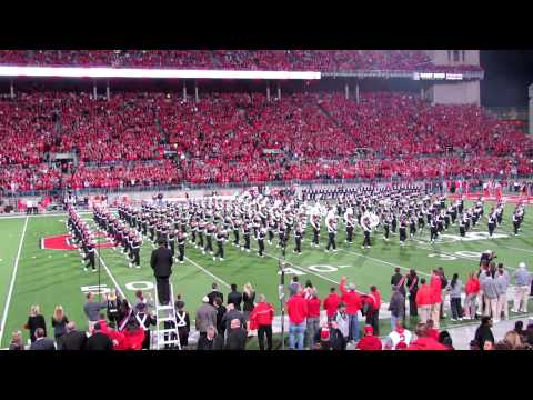 OSUMB Entire Pregame Including Ramp Entry OSU vs Nebraska  10 6 2012