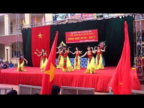 Khai giảng 2016 trường THPT Quỳnh Côi