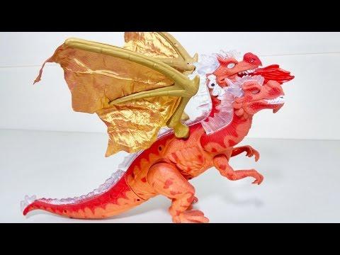 Dino battles toy - Khủng long đại chiến rồng lửa - Baby Channel