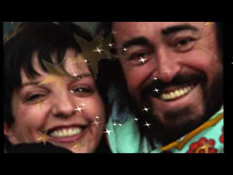 New York New York Liza Minelli &amp; Luciano Pavarotti