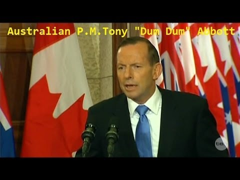 """Friendless"" Tony Abbott in Canada FAILS w/ Climate Change Issues"