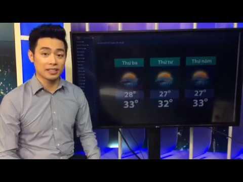 Dự Báo Thời Tiết VTV Hôm Nay và Ngày Mai 13/6/2017 Tại Bắc, Trung ,Nam - BTV Thanh Tùng Livestream