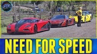 Forza 5 : Need For Speed Movie Cars Challenge (Live Stream