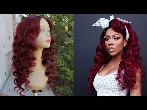How to: Color Hair Red Without Bleach| K Michelle Inspired| Loreal Hicolor