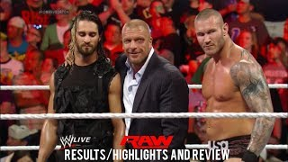 WWE RAW 6/2/14 Results/Highlights & Review, Seth Rollins