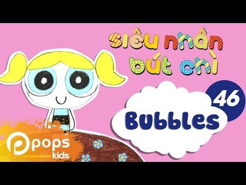 Hướng Dẫn Vẽ Bubbles - Siêu Nhân Bút Chì - Tập 46 - How To Draw Bubbles (from The Powerpuff Girls)