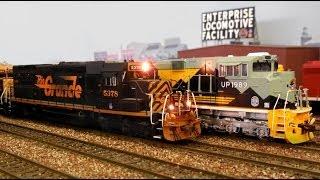 HO Scale: Railfanning The EJCM Layout