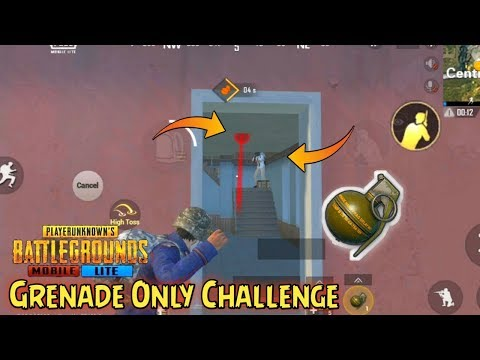 PUBG MOBILE LITE Grenade Only Challenge || FUNNY MOMENTS