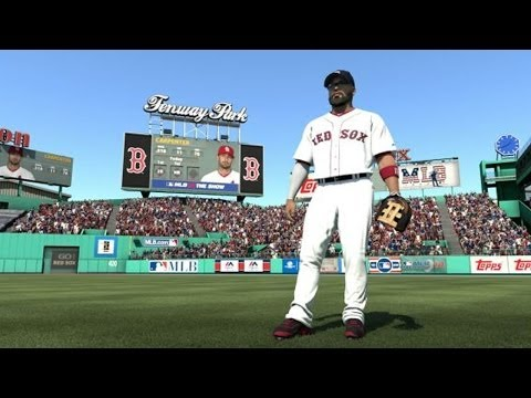 Hunter Pence vs. Yasiel Puig in MLB 14: The Show - First PS4 Gameplay