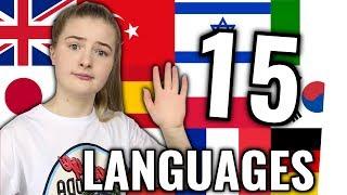 Dieses Mädchen spricht 15 Sprachen