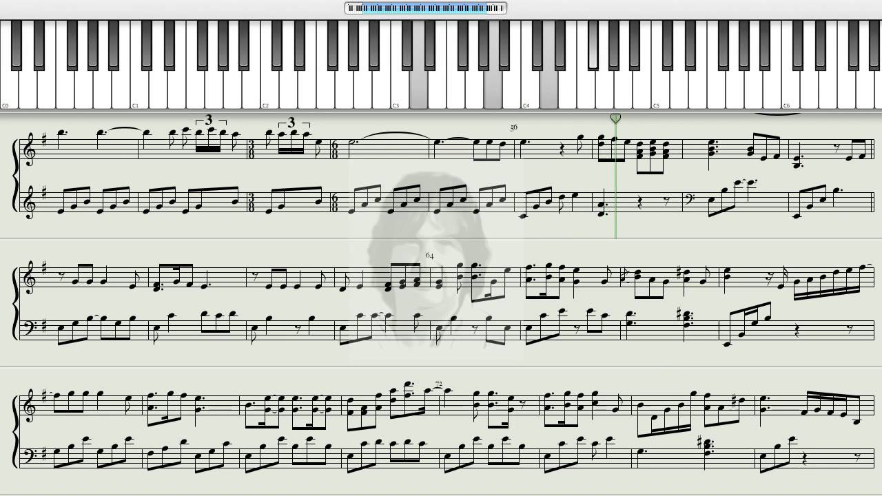 How to play nothing else matters metallica on the piano for Dietmar steinhauer