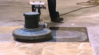 Pulir piso de granito