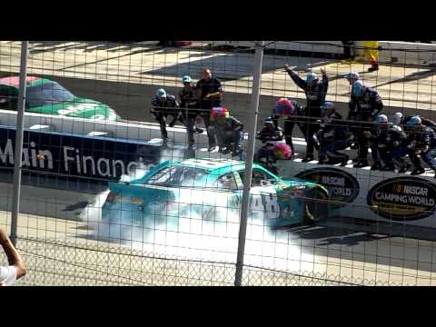 Fedex 400 dover speedway jimmie johnson burnout