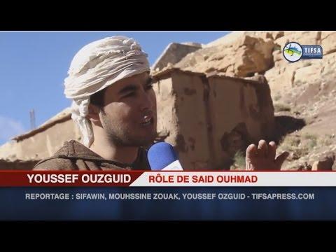 جانب من تصوير المشاهد الأولى للفيلم التاريخي زايد اوحماد
