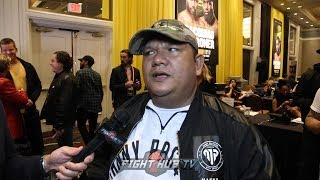 """BUBOY FERNANDEZ """"MANNY IS 40, WE NEED TO MAINTAIN HIM; NO EXCUSES IN MAYWEATHER REMATCH"""""""